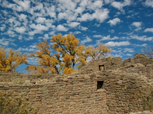 Autumn Day—Aztec Ruins