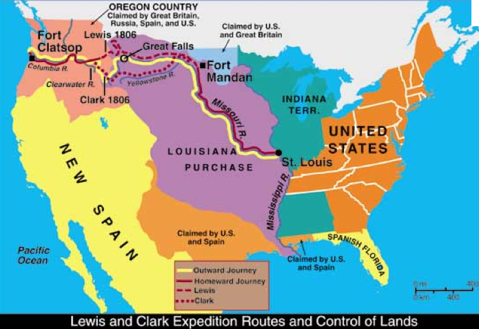 Along Western Trails Part 1The Lewis And Clark