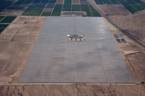 Solana Solar plant photo courtesy of Abamgpa Solar Co.