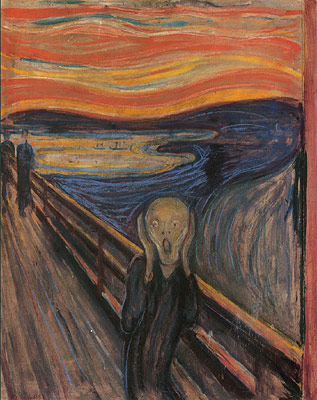 The Scream  courtesy of the Edvard Munch Gallery